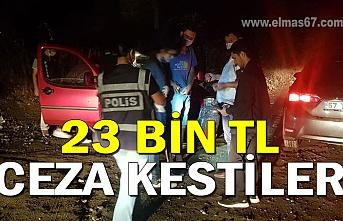 Polis 23 bin TL ceza kesti