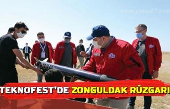 TEKNOFEST'de Zonguldak rüzgarı