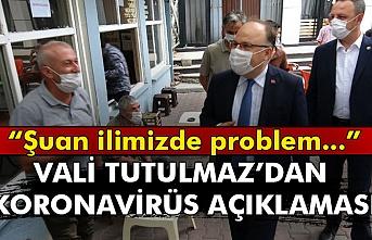 Vali Mustafa Tutulmaz'dan korona virüs açıklaması