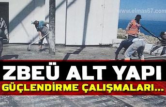 ZBEÜ Alt Yapı Güçlendirme Çalışmaları...