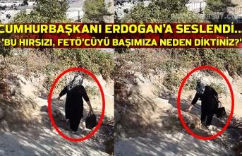 Kozlu'da vatandaş sosyal medya üzerinden Cumhurbaşkanı Erdoğan'a seslendi... 'Bu hırsızı, FETÖ'cüyü başımıza neden diktiniz?'