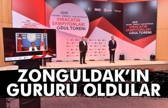 Zonguldak'ın gururu oldular