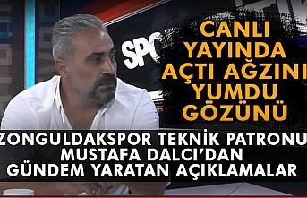 Zonguldakspor teknik patronu Mustafa Dalcı'dan gündem yaratan açıklamalar