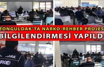 Zonguldak'ta Narko-Rehber projesi bilgilendirmesi yapıldı