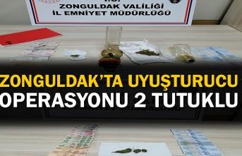 Zonguldak'ta uyuşturucu operasyonu: 2 tutuklu