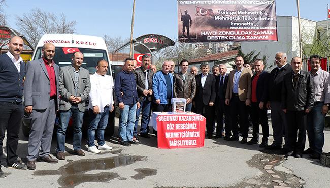 Gelirler Mehmetçik Vakfına...