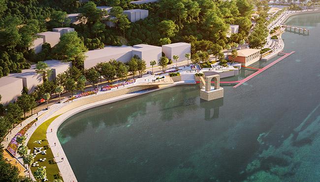 İşte limana yapılacak projenin fotoğrafları...