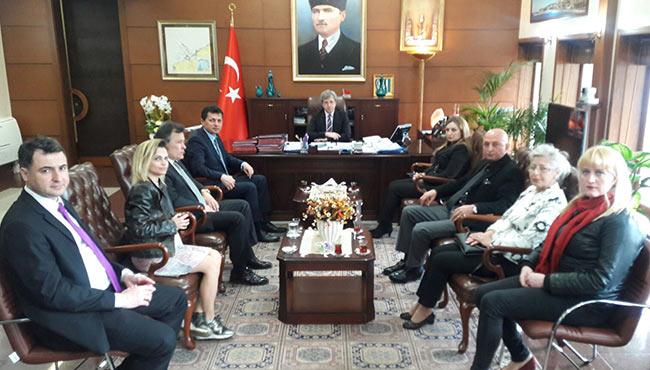 İYİ Parti'den Vali Çınar'a ziyaret...