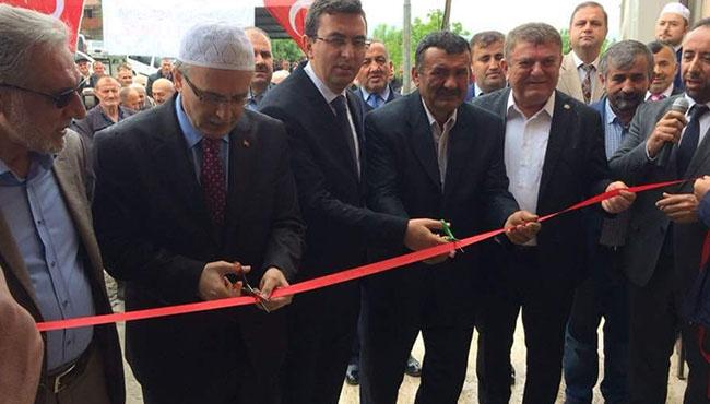 Maden Şehitleri Merkez Camii açıldı