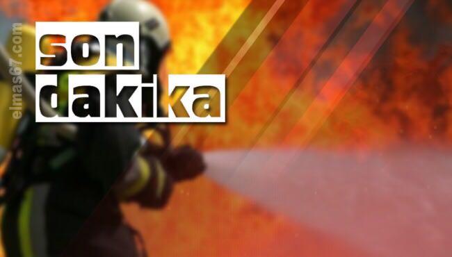 Yangın: Ekipler seferber oldu...