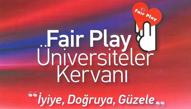 'Fair Play Üniversiteler Kervanı' BEÜ'de...