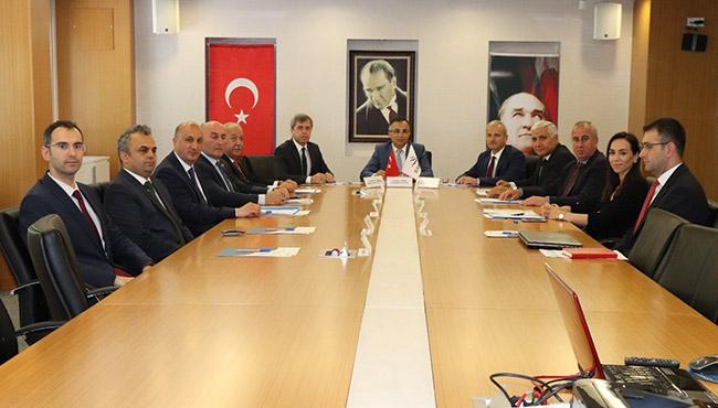 BAKKA'da yönetim kurulu toplandı