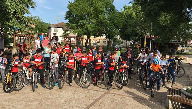 Çaycuma'da pedallar 19 Mayıs için çevirildi