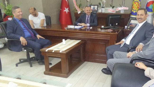 Başkan Uysal'dan Arslan Keleş'e ziyaret