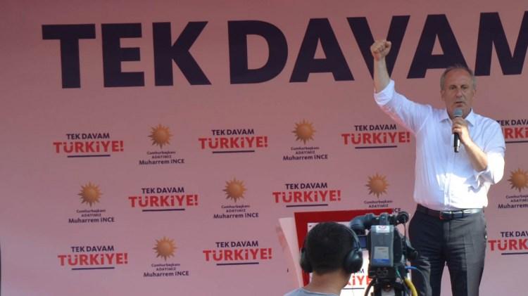 Muharrem İnce Zonguldak'ta neler söyledi?