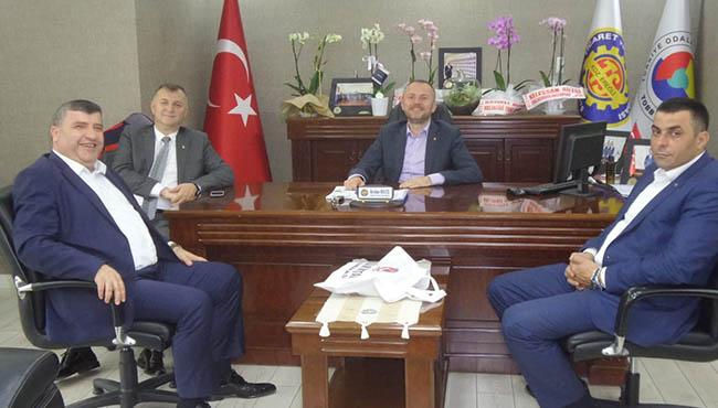 Türk Metal Şube Başkanı Ercan, Ereğli TSO'yu ziyaret etti
