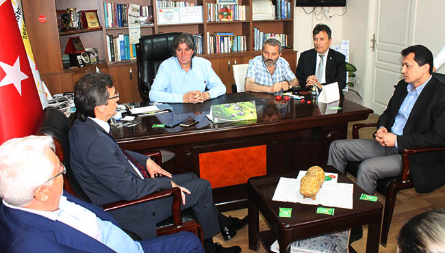İYİ Parti ZGC'yi ziyaret etti