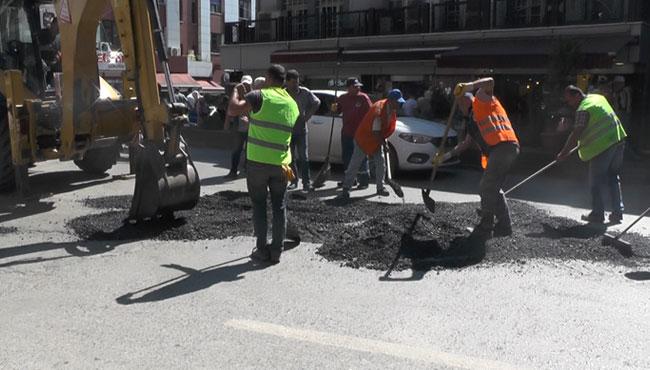 'Reis'in sayesinde asfaltımız oldu'