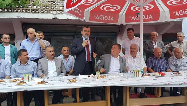 AK Parti'den  Nebioğlu çıkartması