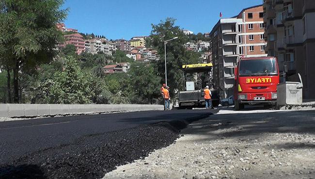 İncivez asfaltlandı, sıra diğer mahallelerde