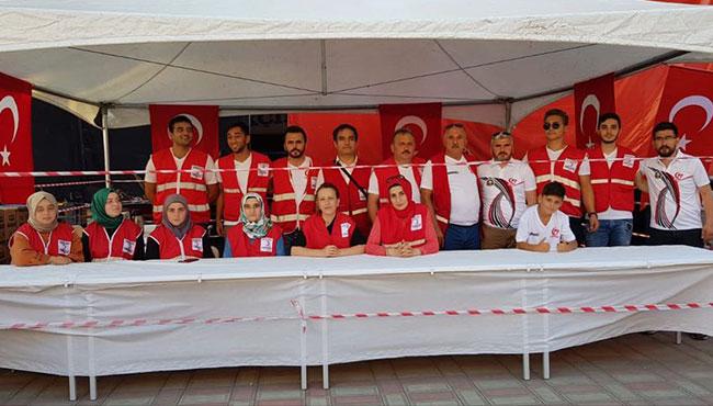 Türk Kızılayı her zaman ki gibi... HAZIR!
