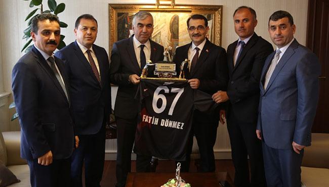 GMİS'ten yeni Enerji Bakanı Dönmez'e ziyaret