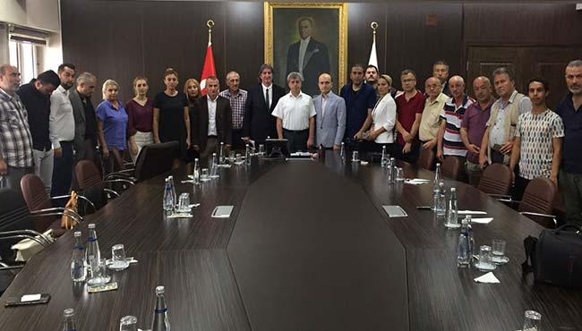 ZGC, Vali Çınar'ı makamında ziyaret etti