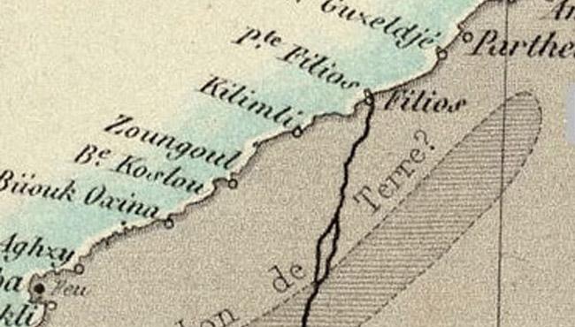 Bildiğiniz her şeyi unutun... Öyle bir harita ortaya çıktı ki