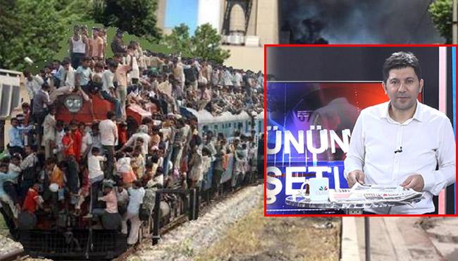 Trene bakma Tayfun! Elmas TV seslendi vagonlar geldi!