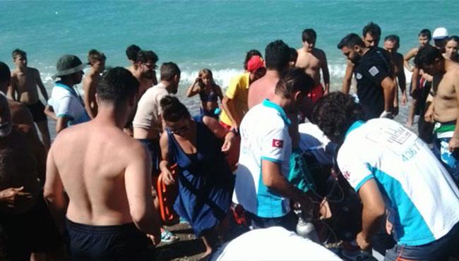 Denizde dehşet... Kalp masajıyla hayata döndü