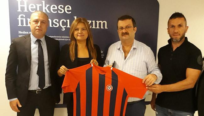Finansbank'tan Kömürspor'a dev destek