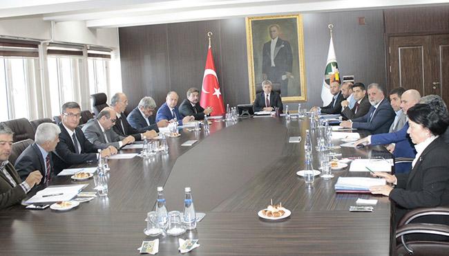 Valilik'te toplantı