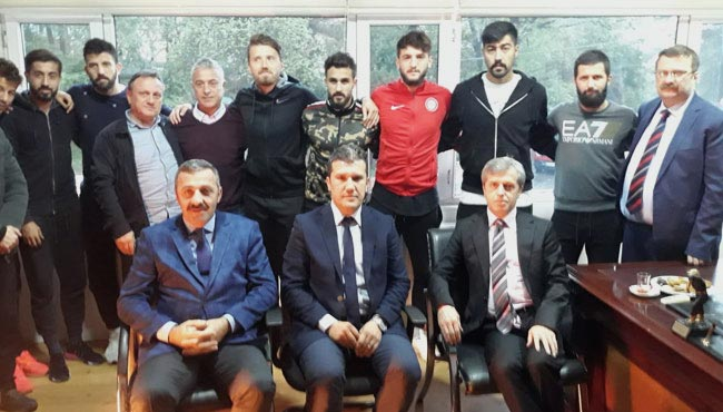 Vali Ahmet Çınar, Zonguldakspor'u ziyaret etti