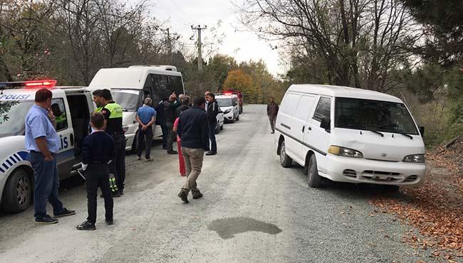 Kaza: 9 yaşındaki çocuğa çarptı!
