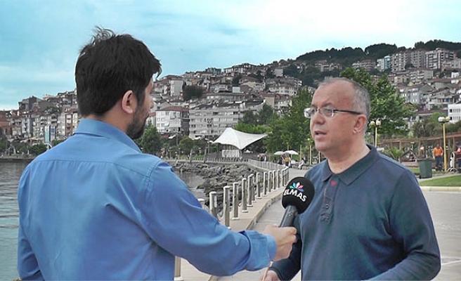 Doğan gönüllü'den Elmas TV'ye özel açıklamalar...