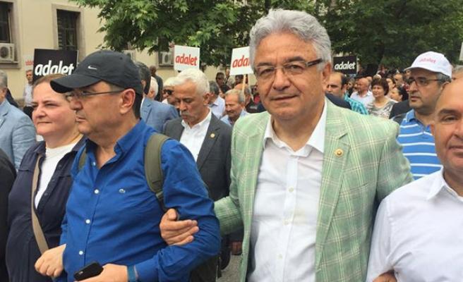 'Adalet Yürüyüşü'ne katılan Turpcu'dan çağrı...