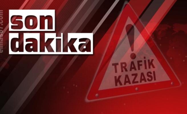 Ankara yolunda kaza...