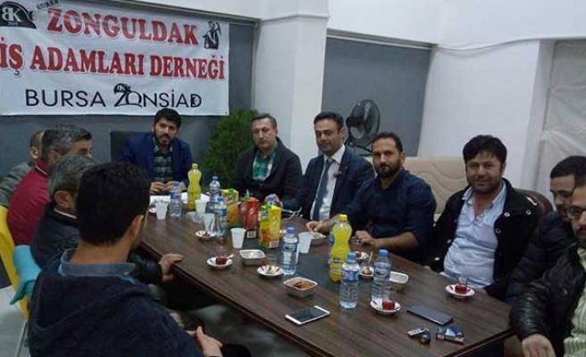 Bursa'da gurbetçi dayanışması...