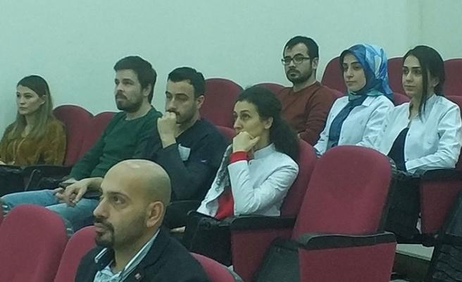 """BEÜ'de, """"Sigara Bağımlılığı ve Ağız Sağlığı"""" semineri..."""