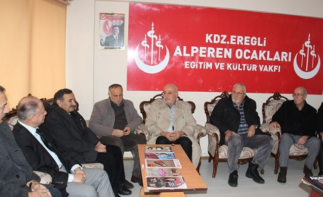Çorumluoğlu, BBP mensupları ile görüştü...