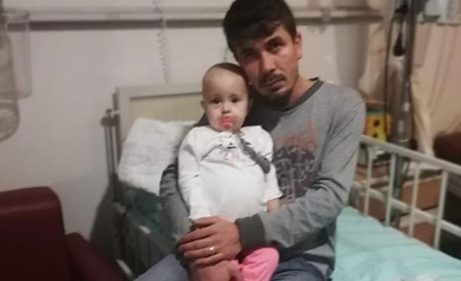 14 aylık Zekiye bebek kanserle savaşıyor...