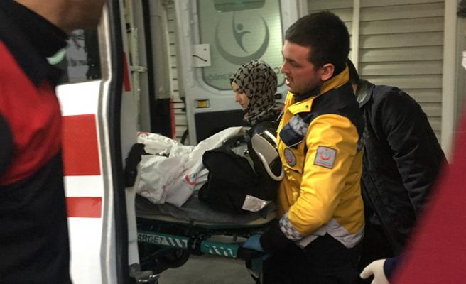 Ağır yaralıydı... Ankaraya sevk edildi...