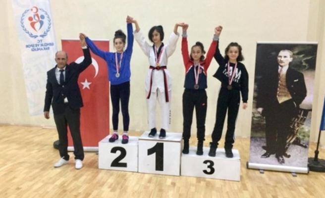 Kdz. Ereğlili Taekwondocular madalyaları topladı