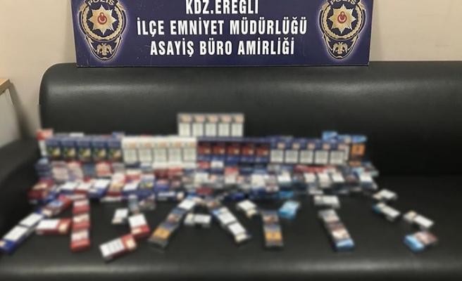 Sigara hırsızları yakalandı...