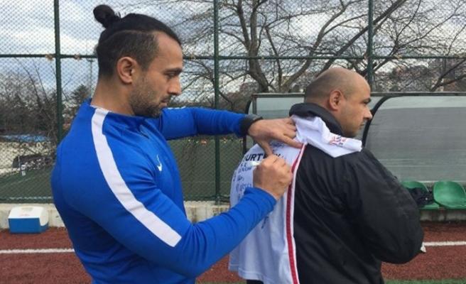 Takımı kazansın diye dua etmişti, o minik taraftara Kömürspor'dan büyük sürpriz
