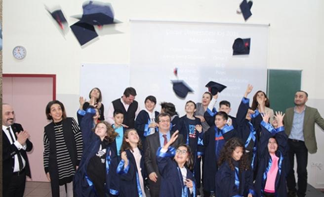 Çocuk Üniversitesi mezuniyet töreni yapıldı...