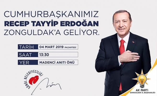 Cumhurbaşkanı Erdoğan'ın miting saati belli oldu