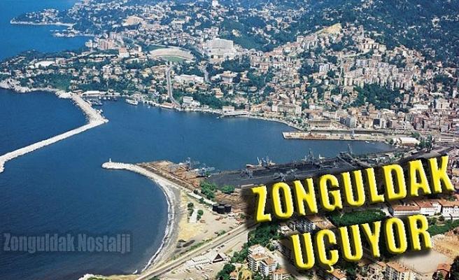 Zonguldak uçuyor...