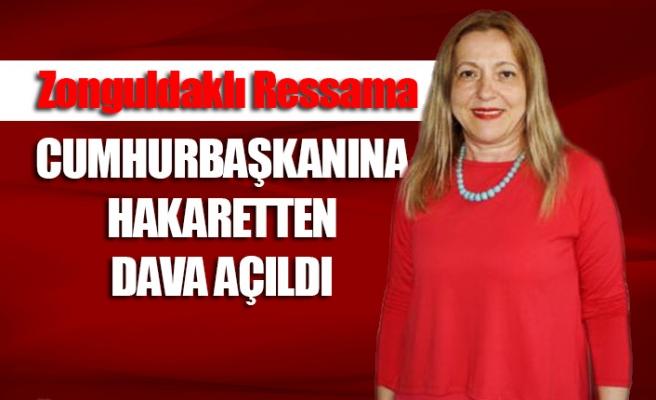 Zonguldaklı ressama Cumhurbaşkanına hakaretten dava açıldı
