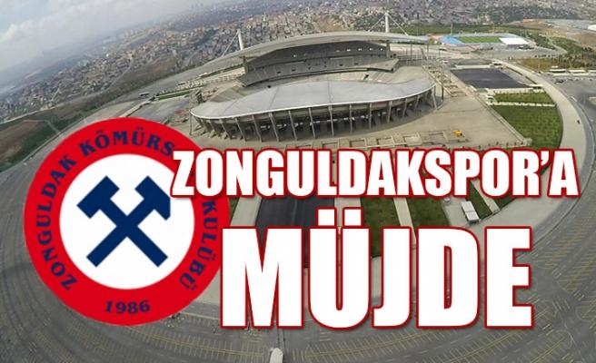 Zonguldakspor'a güzel haber...